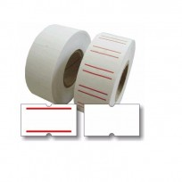 Rollo Etiquetas Blancas Motex 22mmx12mm