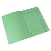 Velox 3 Solapas, S/Elast. Oficio. Verde