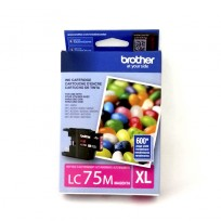 CART. BROTHER LC-75 P/ MFC-J280/425/435W-625/5910DW MAGENTA