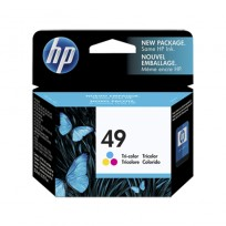 CART.HP 51649ADP P/600 COLOR 22,8ml (#49) DUAL PACK